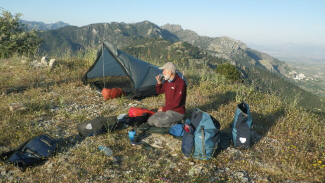 wild camping Cazorla